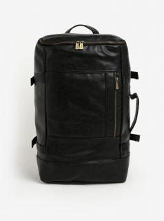Černý batoh/cestovní taška Bobby Black