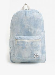 Světle modrý dámský džínový batoh Herschel Daypack 24,5 l