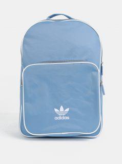 Světle modrý batoh s potiskem adidas Originals
