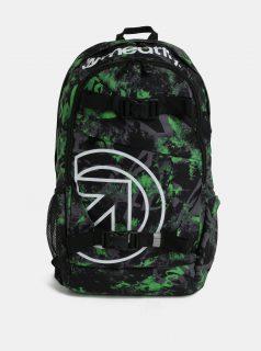 Zeleno-černý kostkovaný batoh Meatfly Basejumper 3 20 l 472d28e97d