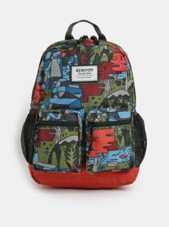 Oranžovo-zelený klučičí batoh batoh Burton Gromlet 15 l