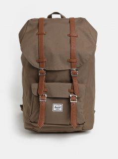 Hnědý batoh Herschel Little America 25 l