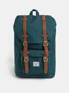 Tmavě zelený batoh Herschel Little America Mid 17 l
