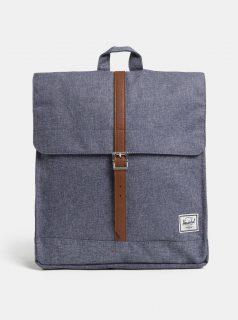 Modrý žíhaný batoh Herschel City Mid 14 l