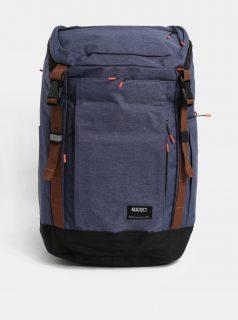 Modrý batoh s hnědými detaily Nugget 35 l