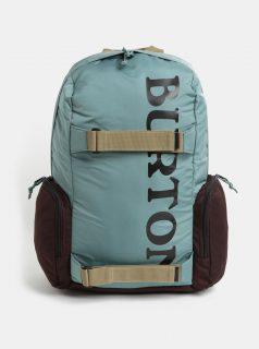 Hnědo-zelený batoh Burton 26 l