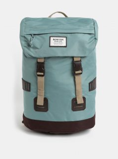 Hnědo-zelený batoh Burton 25 l