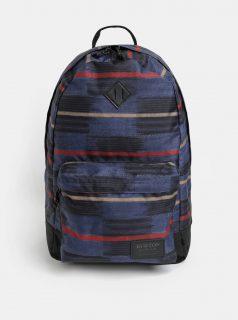 Modrý vzorovaný batoh Burton 20 l