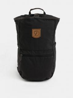 Šedý batoh s koženou nášivkou Fjällräven High Coast 18 l