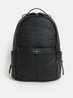 Černý koženkový batoh Paul's Boutique Rosa