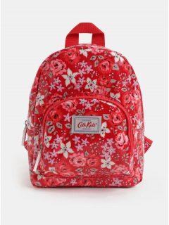 Červený batoh se zipy ve zlaté barvě ZOOT - Batohy 016fd3afbcc