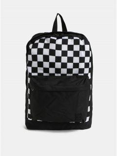 Bílo-černý batoh s přední kapsou Jack & Jones Basic