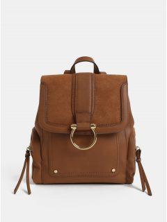 Hnědý batoh s přední částí v semišové úpravě ALDO Ulrey