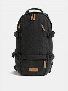 Šedý pánský voděodpudivý batoh s koženými detaily Eastpak Series Floid 16 l