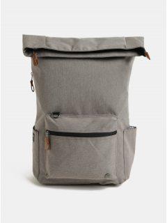 Světle hnědý nepromokavý batoh s odnímatelnou vnitřní taškou na notebook 2v1 PKG 22 l