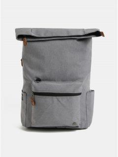 Šedý nepromokavý batoh s odnímatelnou vnitřní taškou na notebook 2v1 PKG 22 l