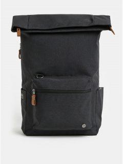 Tmavě šedý nepromokavý batoh s odnímatelnou vnitřní taškou na notebook 2v1 PKG 22 l