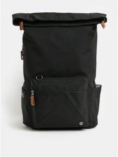 Černý nepromokavý batoh s odnímatelnou vnitřní taškou na notebook 2v1 PKG 22 l