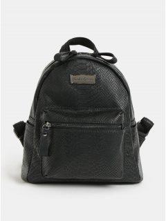 Černý batoh s krokodýlím vzorem Claudia Canova Anii Xs