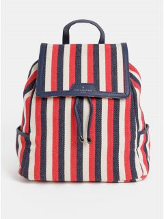 Modro-červený pruhovaný batoh Paul's Boutique