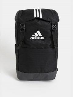 Černý batoh s potiskem adidas Performance