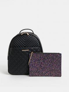 Černý batoh s odnímatelným pouzdrem ALDO