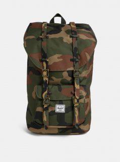 Khaki maskáčový batoh Herschel Lil Amer 25 l