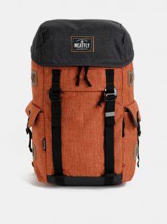 Šedo-oranžový batoh Meatfly Scintilla 30 l