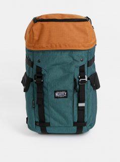 Oranžovo-zelený batoh Meatfly Scintilla 2 30 l