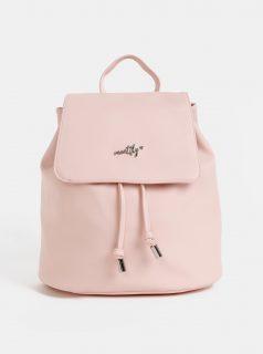 Světle růžový dámský batoh Meatfly