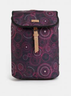 Fialový dámský vzorovaný batoh LOAP Evena 13 l