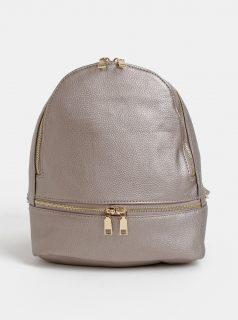 Béžový dámský batoh s metalickými odlesky Haily´s Sammy
