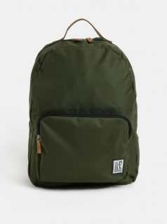 Tmavě zelený batoh s přední kapsou The Pack Society 18 l