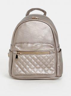 Béžový dámský batoh s metalickými odlesky Haily´s Celine