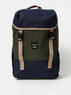 Modro-zelený batoh Jack & Jones Luke