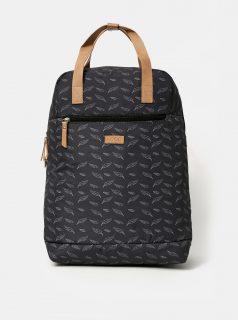 Tmavě šedý dámský vzorovaný batoh LOAP Reina 15 l