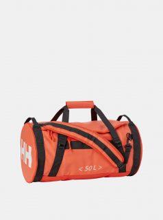 Oranžová nepromokavá cestovní taška/batoh HELLY HANSEN Duffel 50 l