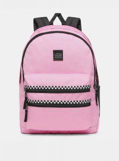 Růžový dámský batoh VANS 30 l