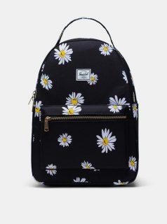 Černý květovaný batoh Herschel Supply 18 l