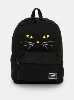 Černý batoh s potiskem VANS