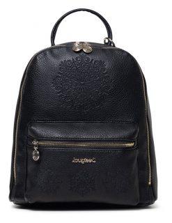 Desigual černý malý batoh Back Alexandra Nazca Mini