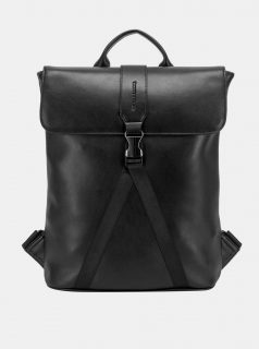 Dámský černý batoh Smith & Canova