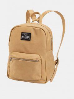 Béžový dámský batoh Meatfly Vica 12 l