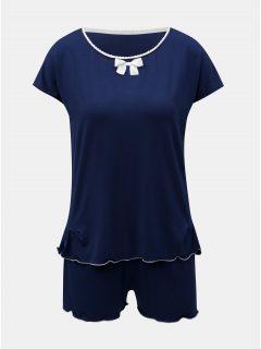 Tmavě modré dvojdílné pyžamo Eldar Barbara