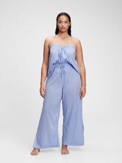 Modré dámské pyžamové kalhoty dreamwell pajama pants