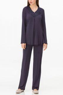 Dámské pyžamo 11155-240 tmavě modrá – Vamp tm.modrá