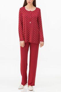 Dámské pyžamo 11161-316 červená – Vamp červená