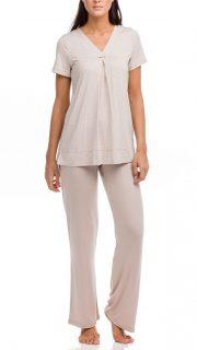 Dámské pyžamo Electra 12210-505 béžová – Vamp
