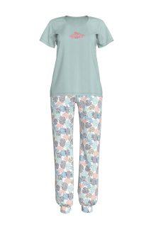 Dámské pyžamo 12919-492 zelená – Vamp