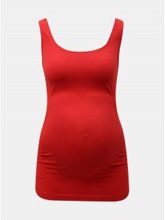 Červené těhotenské basic tílko Mama.licious Heal